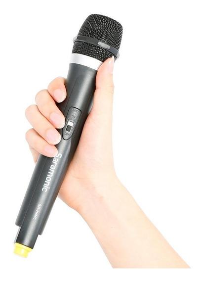 Microfone Para Entrevista Saramonic Sr-hm4c Sem Fio Dslr