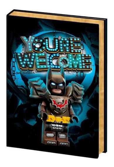 Libreta Con Bolígrafo Tinta Invisible Batman