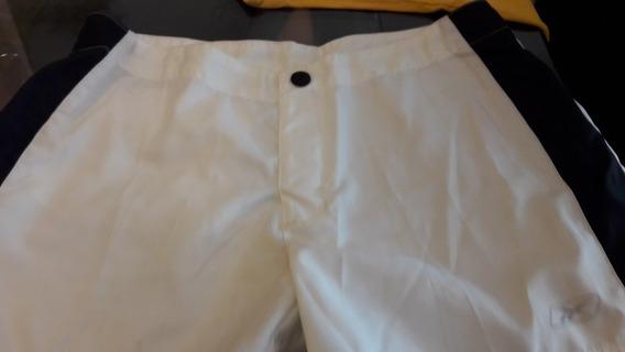 Oferta Short Blanco Reebok Mujer 1 Bolsillo Atrás Talle M
