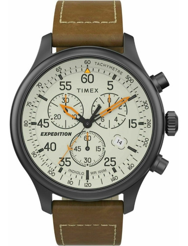 Relógio Timex Expedition Field Cronógrafo 43mm Tw2t73100