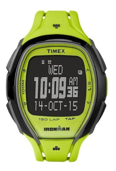 Timex Relógio Iron Man Série 30 Anos Verde Tw5m0040