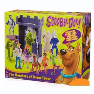 Scooby Doo La Torre Del Terror C 10 Figuras Original Intek