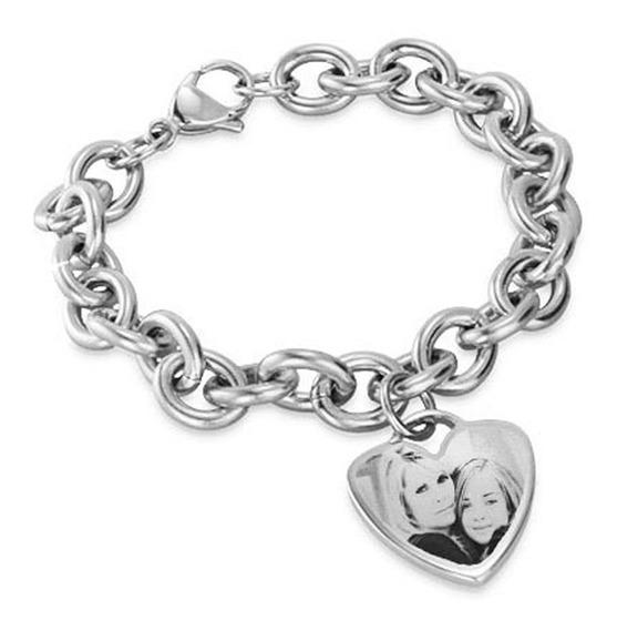 Pulsera Eslabón Tiffany + Foto Medalla