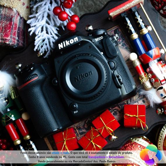 Câmera Nikon D500 (corpo) (35.000 Cliques, Originais)