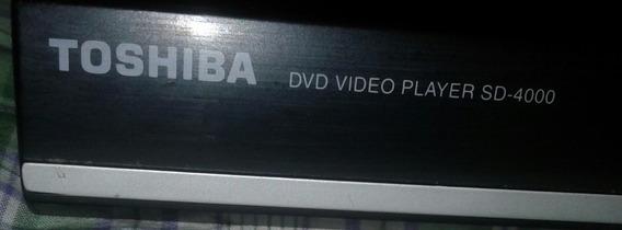 Dvd Player Toshiba Sd 4000 Para Reparar O Respuestos
