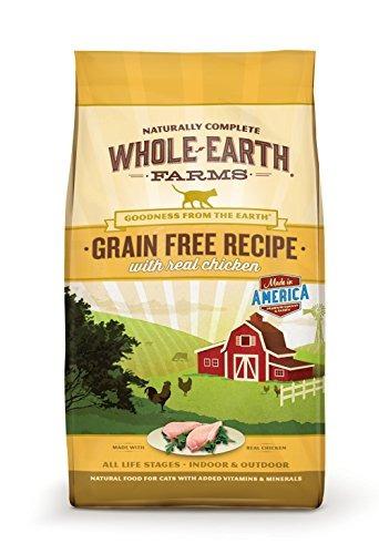Whole Earth Farms Receta Sin Granos Seca Para Gatos