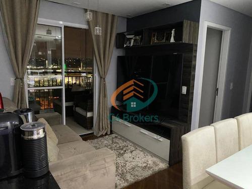 Imagem 1 de 24 de Apartamento Com 2 Dormitórios À Venda, 49 M² Por R$ 375.000 - Vila Antonieta - São Paulo/sp - Ap2342