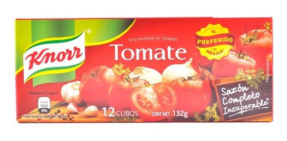Sazonador Knorr Tomate 12 Cubos