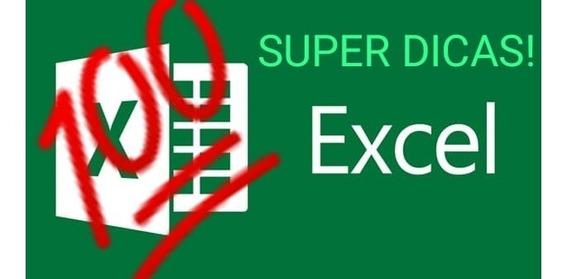 100 Dicas Excel + Planilha Bônus - Entrega Imediata