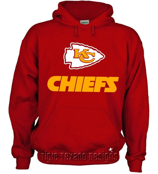 Sudadera Nfl Chiefs Kansas City Mod1 By Tigre Texano Designs