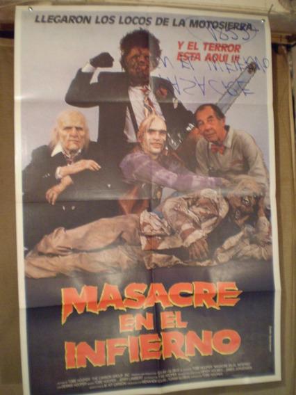 Saldo- Masacre En El Infierno- Escrito Reverso-ver Fotos