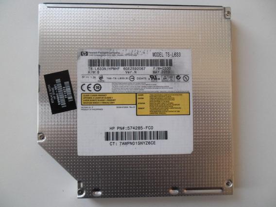 Gravador De Dvd Notebook Sata Hp Ts-l633