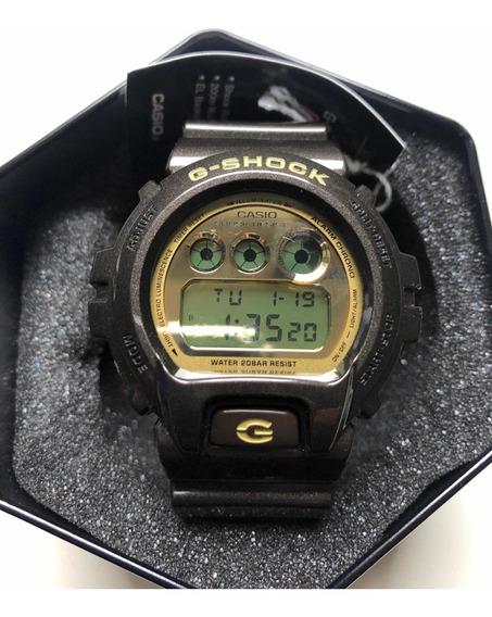 Relógio G Shock Dw-6900br - 3230 Espelhado Dourado