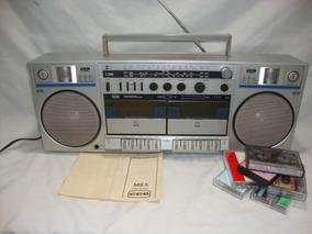 Antigo Radio Cce Ms-5 Toca Fita Gravador Am E Fm Boombox