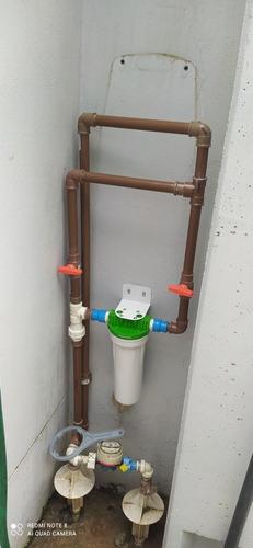 Instalação De Cavalete Com Filtro De Água Na Entrada Geral