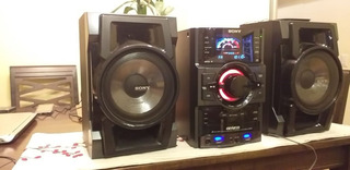 Equipo De Sonido Sony Genezi S/399