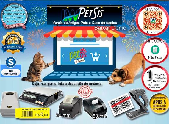 Petshop Pdv Casa De Rações, Vendas Loja - Sem Mensalidade