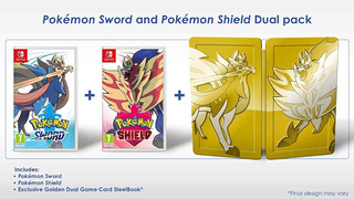 Pokémon Sword Shield Espada Escudo Dual Steelbook