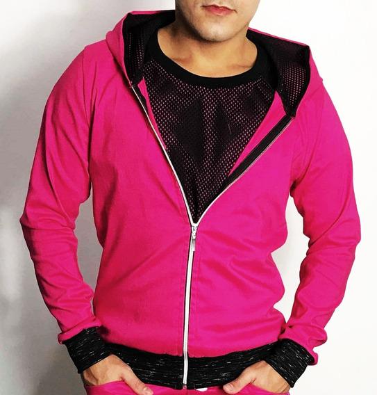 Camisetas Masculinas Bomber Jacket Bengaline Pink