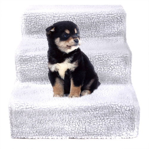 Imagen 1 de 5 de Gato Árbol Escalera 3 Pasos Perca Rascador Escaleras Para Ma