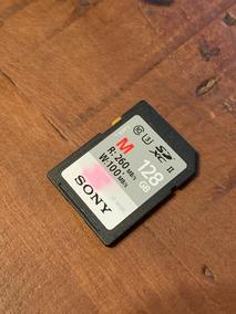 Cartão Sdxc 128gb Sony Uhs-ii U3 Série M De 260mb/s