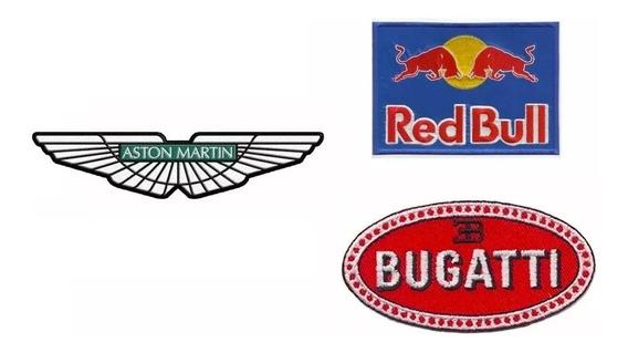 3 Parches Bordados Marcas Y Emblemas Autos