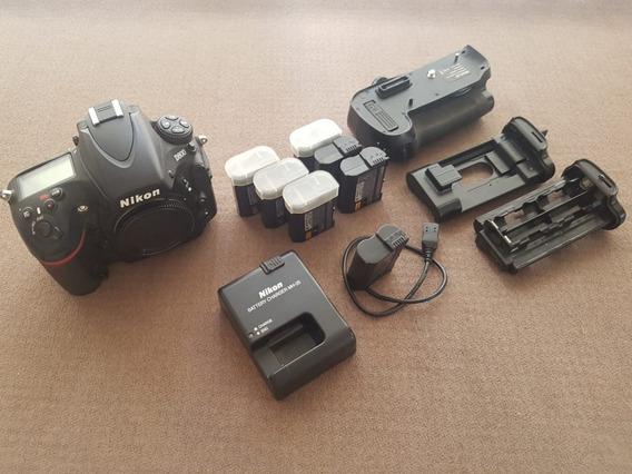Nikon D800 36.3mp (26k Clics)+ 6 Baterias+ Grip+ 2 Cf 32gb