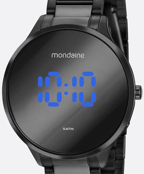 Relógio Mondaine Feminino Preto Digital 32060lpmvpe3