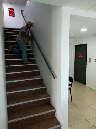 Pasamanos,barandas P Escaleras A Medida Grampas Reforzadas .