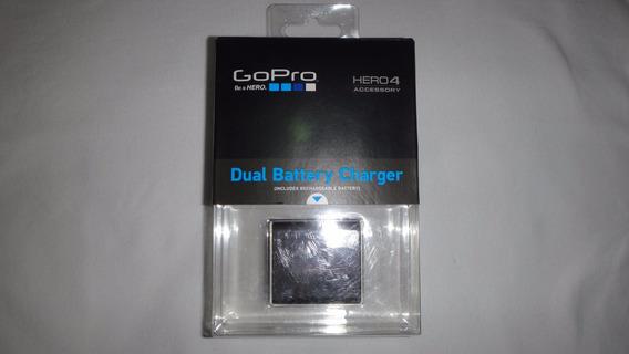 Carregador De Bateria Dupla P/hero4 Gopro Modelo Ahbbp-401