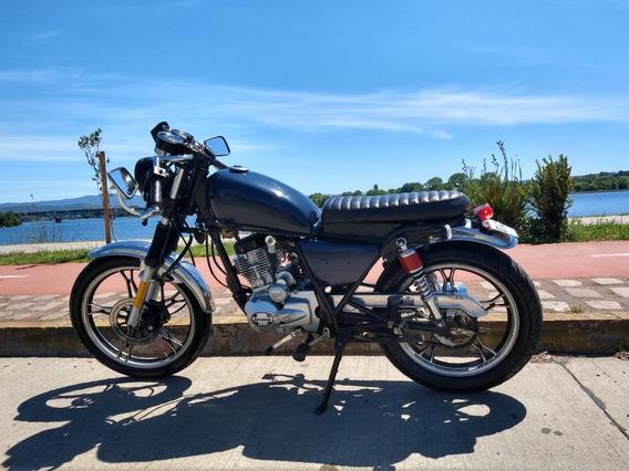 Moto Tipo Cafe Racer