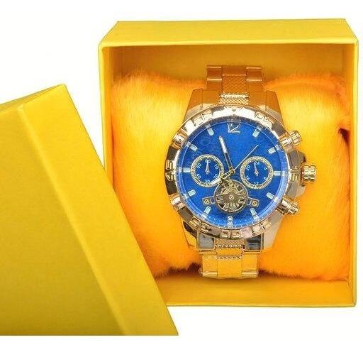 Kit Luxo 5 Relógios Masculinos Atacado Revenda + Caixa Top