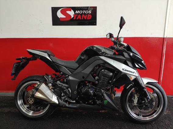Kawasaki Z 1000 Z1000 Z-1000 2010 Preta Preto