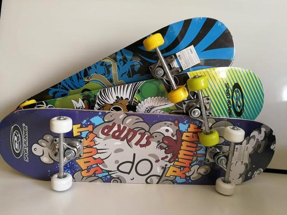 Skate Infantil De 78 Cm Con Track De Metal