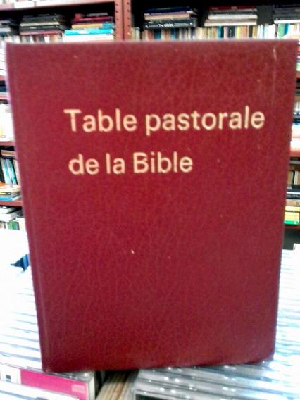 Table Pastorale De La Biblie G Passeleq Editora P Lethielleu