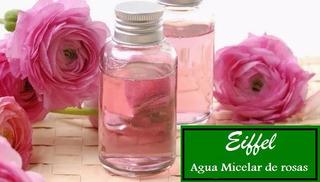 Agua Micelar De Rosas 1 Litro Pura Y Natural