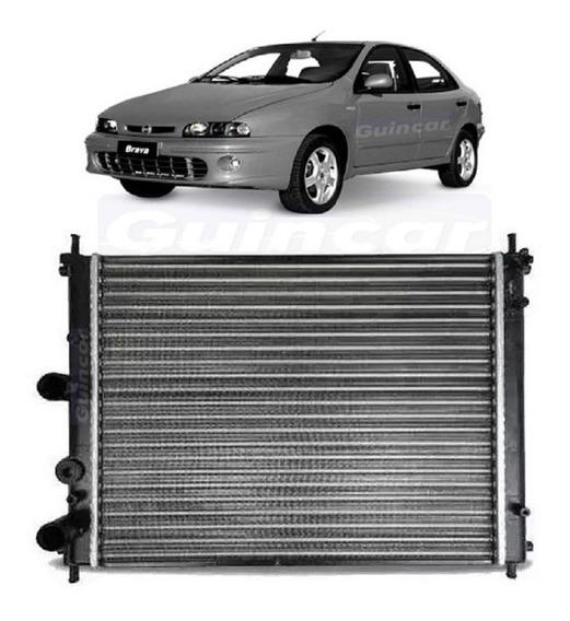 Radiador Fiat Brava 2000 2001 2002 Até 2004 Motor 1.6 Manual