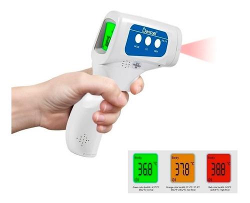 Imagen 1 de 10 de Termometro Infrarrojo Testeo A Distancia Humanos