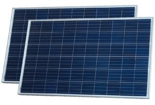 Oferta Pack X 2 Panel Solar 270w 24v Policristalino Enertik