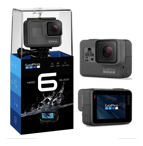 Camera Gopro Hero 6 Black 12mp 4k Wi-fi Lacrada