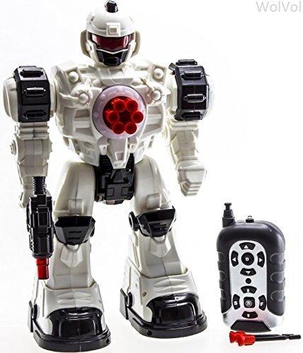 Wolvol (versión Grande) Robot De Control Remoto De 10 Canale