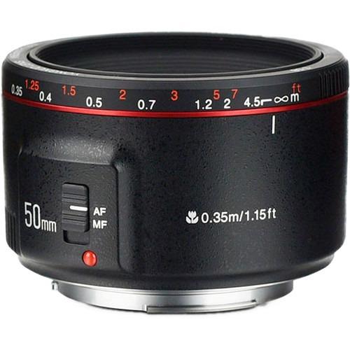 Lente Yongnuo 50mm F/1.8 Ii Canon