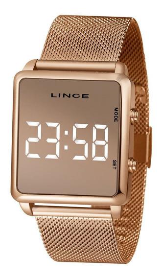 Relógio Feminino Lince Led Mdr4619l-bxkx