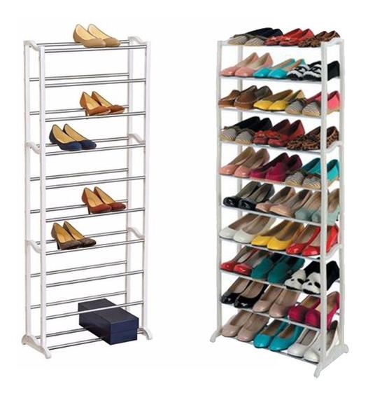 Sapateira Vertical 30 Pares 10 Andares Sapatos Quarto Casa