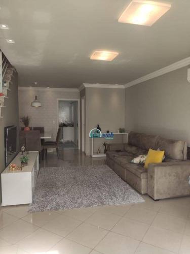 Sobrado Em Condomínio Fechado Com 3 Dormitórios À Venda, 132 M² Por R$ 575.000 - Vila Eldízia - Santo André/sp - So1131