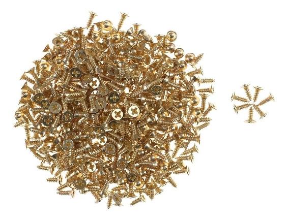 Lote De 1000 Tornillos Milimetricos 2m*6mm Ú 8mm De Longitud
