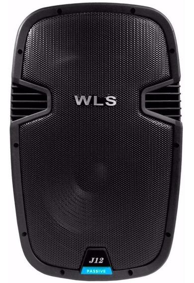 Caixa De Som Acústica Wls J12 180w Rms Passiva