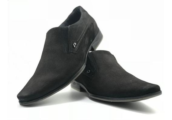 Sapato Pegada Social Masculino Couro 122261-04 Wood Brown