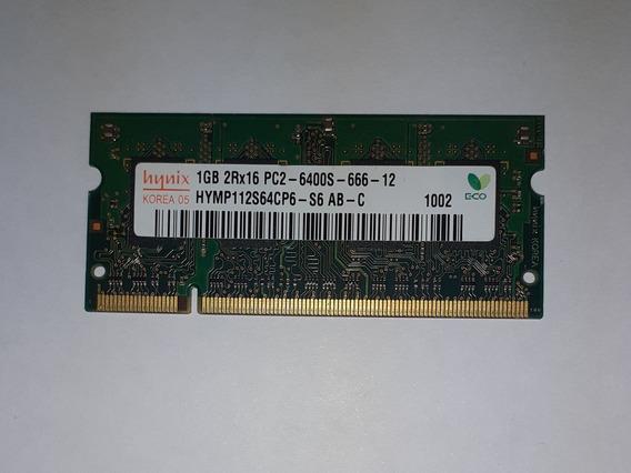 Memoria Ram Hynix Ddr2 Sodimm 1gb 667mhz