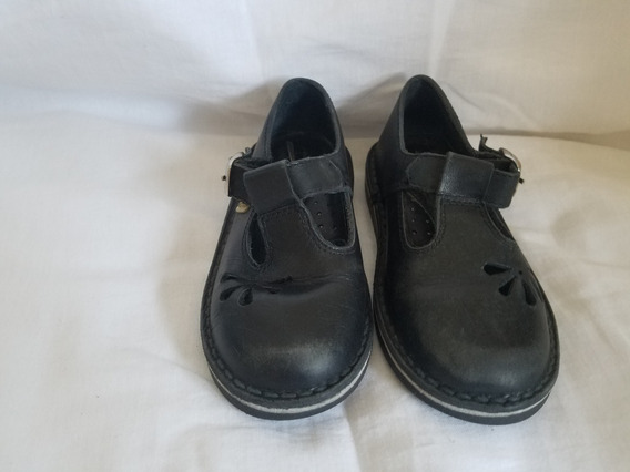 Zapato Escolar De Niña - Marca Marcel - Color Negro- Nro. 27